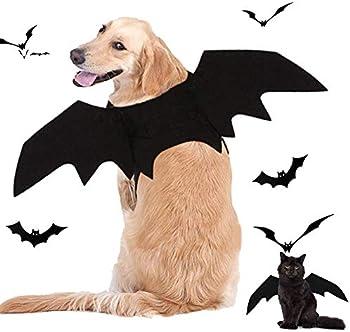 Fasafsaf Bat Wings Halloween Pet Costume
