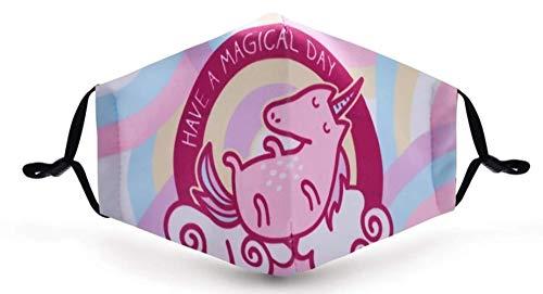 Have a Magical Day Einhorn-Gesichtsmaske, Unisex, Einheitsgröße
