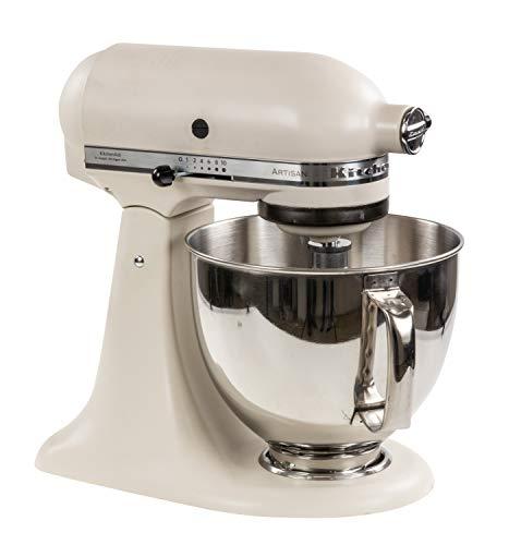 KitchenAid 175724 Artisan Robot de cuisine, Acier Inoxydable, White