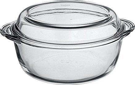 Galicja La Chaleur Meilleure Diges Four Verre Plat à gratin Borcam Forme Casserole 3,1 L