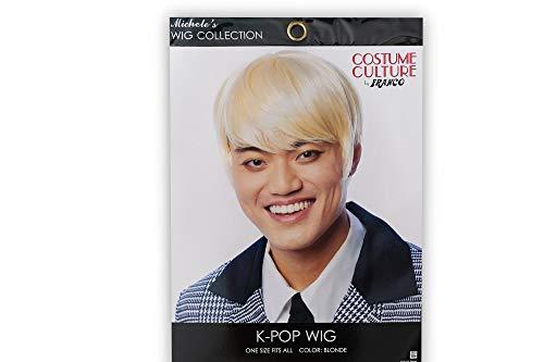 K-Pop Adult Costume Wig | Cosplay, Costume, & Leisure Wig | Blonde Hair Color