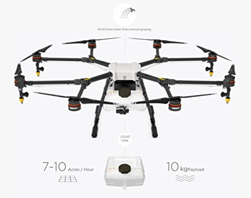 DJI Agras MG-1 Agriculture Spraying Drone with Battery Charger