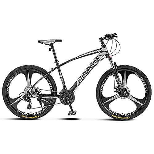 CHHD Bicicleta de montaña de Campo traviesa Que Absorbe los Golpes Bicicleta de Velocidad Variable con Freno de Doble Disco de 26 pulgadas/27,5 Pulgadas, 21 velocidades/27 Velocidad
