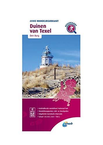 Wandelregiokaart Duinen van Texel 1:33.333: Den Burg