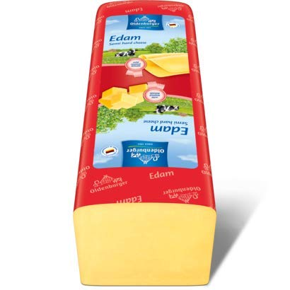 Queso de barra Edam Oldenburger 3 kg. aproximadamente