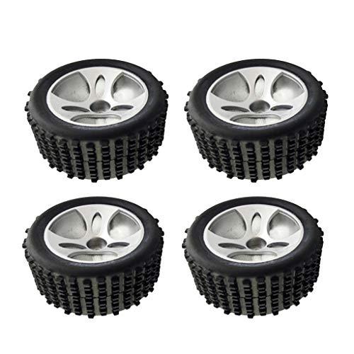 Hellery 1:18 Escala RC Coche Eléctrico Modelo A959-01 Neumáticos de Rueda para...