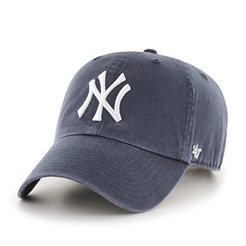 47 '47 Unisex New York Yankees Kappe, (Charcoal & White), (Herstellergröße: One Size)