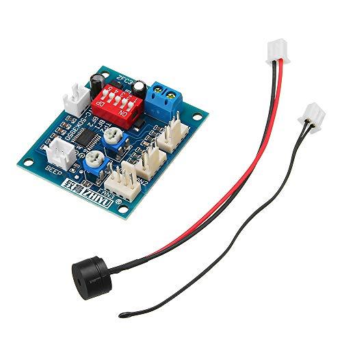ILS - DC 12V Vieradriger Thermostat PWM PC CPU Lüfter Temperaturregelung Drehzahlregler-Modul