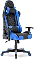 Gaming Chair Racing Office Chair High Back Computer Desk Chair PU Leather Chair Executive and Ergonomic Swivel Chair...