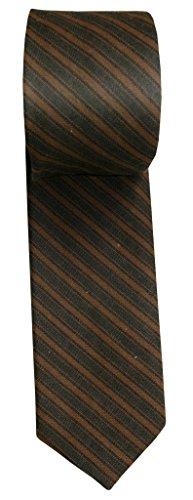 Kakadu Traders Australia gestreifte Krawatte, Casual Look aus kräftiger Canvas- Baumwolle von Whillas & Gunn