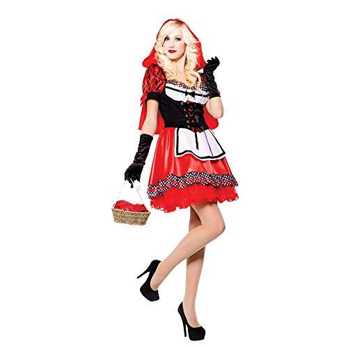 Chaperon Rouge bonbon - Red Riding Hood - Adulte Costume de déguisement - Taille