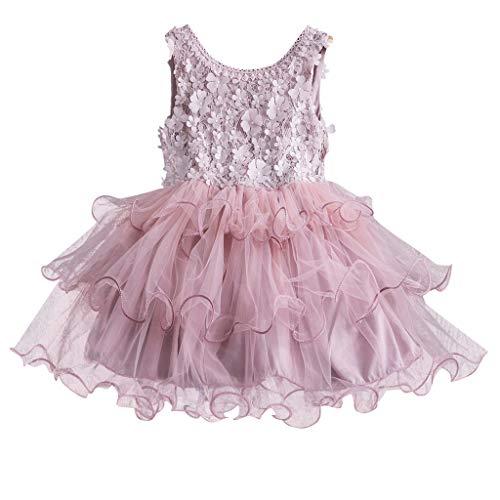 Digood Toddler Newborn Infant Baby Girls Casual Balloon Sunflower Floral Sleeveless Dress Outfits Set
