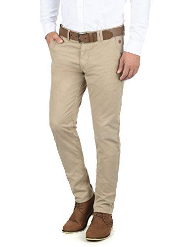 Blend Tromp Herren Chino Hose Stoffhose Aus 100% Baumwolle Regular Fit, Größe:W33/30, Farbe:Beige Brown (71509)