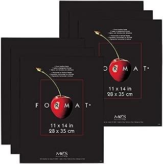 MCS 11x14 Inch Format Frame 6-Pack, Black (65639)