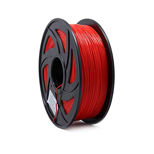 Rabusion Hot for 1KG 1.75mm PLA Filament for 3D Printer Printing Filament Materials red