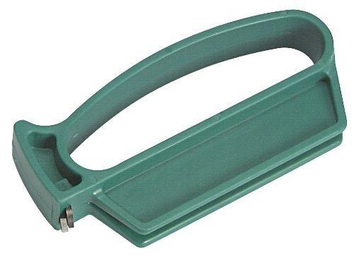 Multi-Sharp 1501 4 in 1 Mehrzweck-Gartenwerkzeuge Messerschärfer für Astscheren mit geradem Schnitt, Gartenscheren, Rosenscheren, Grashaken und Unkrautmesser