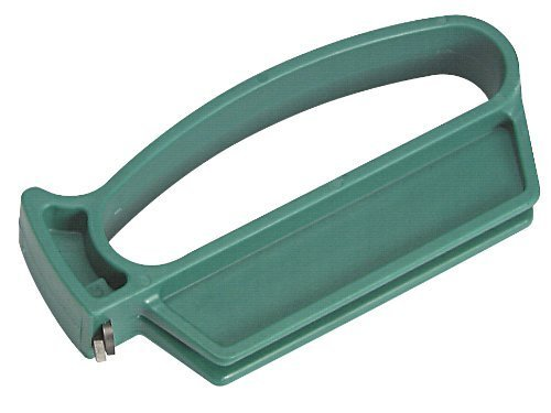 MULTI-SHARP MS1501 Outil de Jardinage Multi-usages 4 en 1 Aiguiseur de Lame pour élagueur, sécateurs, Crochets à Gazon et Couteaux à Mauvaises Herbes à Bords Droits