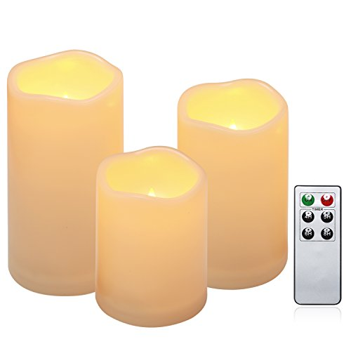 Battery Candles Set of 3
