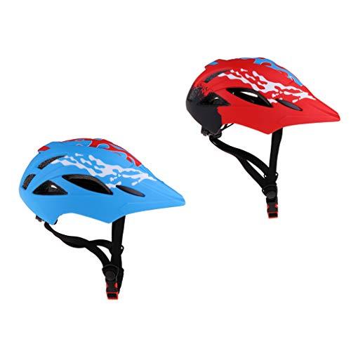 yotijar 2X Accesorios de Patín de Bicicleta para Casco de Bicicleta Transpirable para