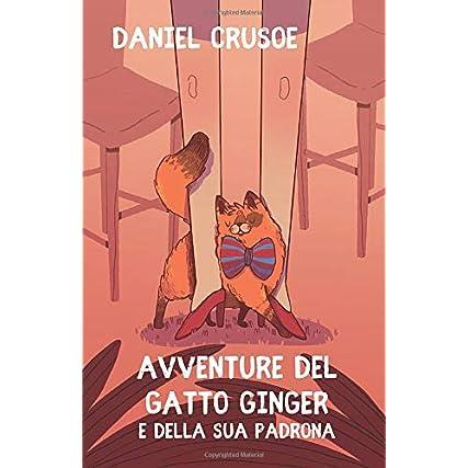 Avventure del Gatto Ginger e della sua padrona: Romanzo fantastico