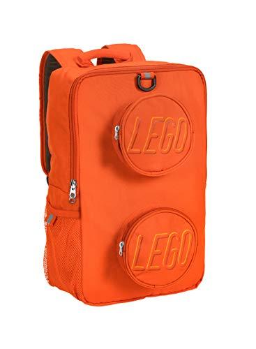 LEGO Brick Backpack, Orange, One Size