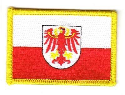 Flaggen Aufnäher Patch Italien - Südtirol Fahne Flagge by FahnenMax®