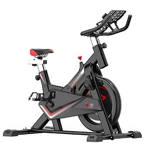 DJDLLZY Bicicletas de Ejercicio, Plataforma Cubierta de Ciclo de la Bici con la Correa de transmisión, Ajustable Asiento de Confort Interior Equipo de Silencio, Exercise & Fitness Equipment