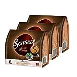 Senseo Caffe Crema, cápsulas de café, aromáticas y Totalmente sólidas, café Tostado, café, 48 cápsulas