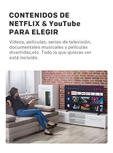 TV Metz 42'' (106 cm) LED Full HD Android TV avec DVB-C/T2/S2 Série MTC6
