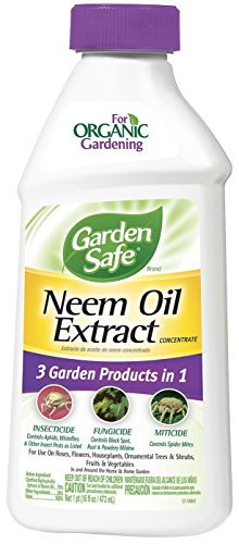 Garden Safe HG-83179 Neem Oil Extract Concentrate 16 fl oz, Pack of 6