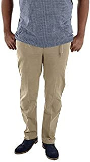 Duke D555 Basilio Mens Rugby Trousers Fully Elasticated Waist With Draw Cords Chinos