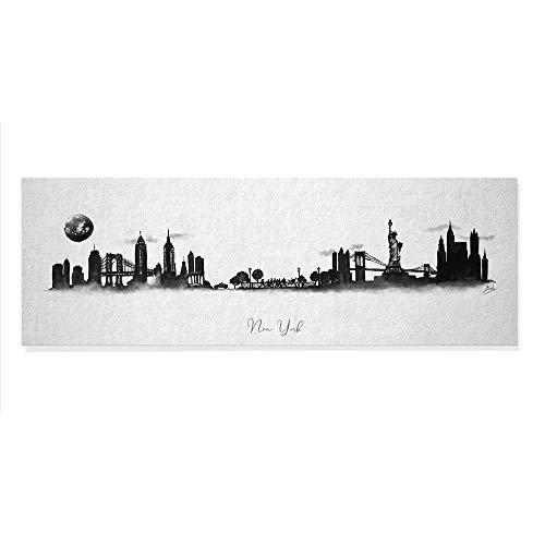 ArcoIris Home Quadro decorativo Skyline New York 90 x 30 cm