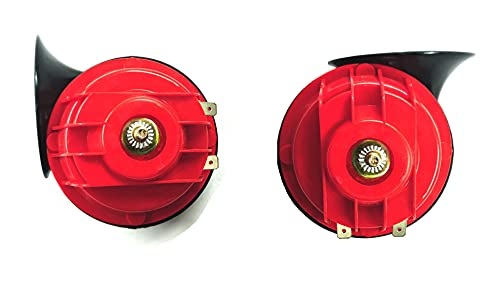 A2D Heavy Sound Super Type R Passenger Car Horn For Volkswagen Polo Type 1 (Set of 2)