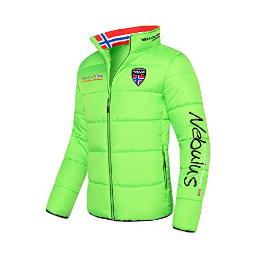 Nebulus Winterjacke Exodus Herren (Model: P4165 - Herren, Green_Flash-sc; Größe: XL)