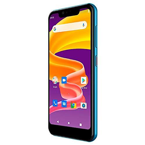 Blabloo Wave 1 Kinder- Smartphone 16GB 5.45 Zoll (13.8 cm) Dual-SIM Android 9.0 Blau, Pink