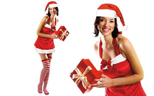 GUIRMA Weihnachtsmann-Kostüm sexy Mamma Babba Frau