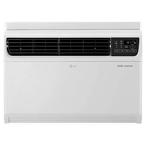 LG 1.5 Ton 5 Star Inverter Wi-Fi Window AC (Copper, 2020 Model, JW-Q18WUZA, White)