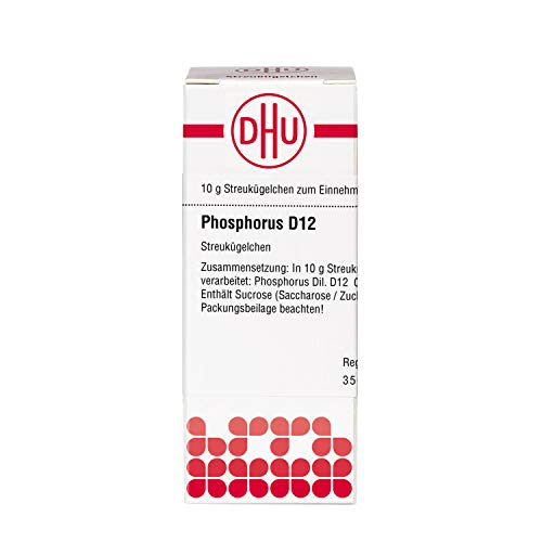 DHU Phosphorus D12 Streukügelchen, 10 g Globuli