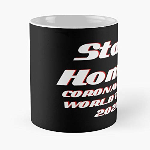 Stay Home Coronavirus World Tour 2020 Classic Mug - Funny Gift Coffee Tea Cup White 11 Oz The Best Gift For Holidays Situen.