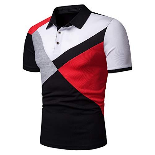 Señores Moda Polos, de Manga Corta de la Camiseta de los Deportes del Verano de la Corto Longsleeve Moderno