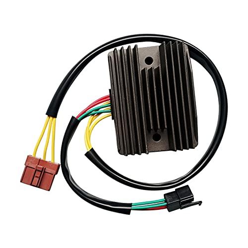WUJIE Regulador de Voltaje rectificador Ajuste para Piaggio XEVO 400 07-12 GTS300 IE 11-12
