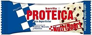 Nutrisport Barrita Proteica 12 x 46g Vainilla y Cookies