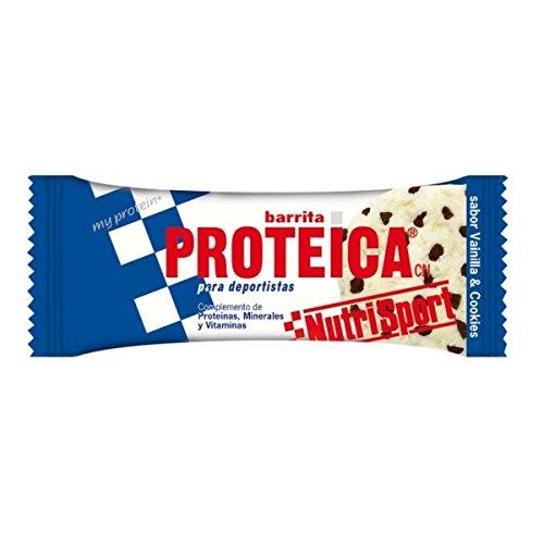 Nutrisport Barrita Proteica 24 x 46g Vainilla y Cookies 🔥