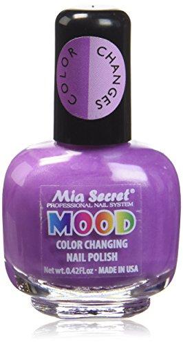 Mia Geheimnis Mood Nagellack, Violet Lilac 15ml