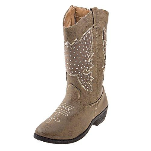 Kensie Girl Kids Western Cowboy Boot (Toddler, Little Kid, Big Kid)