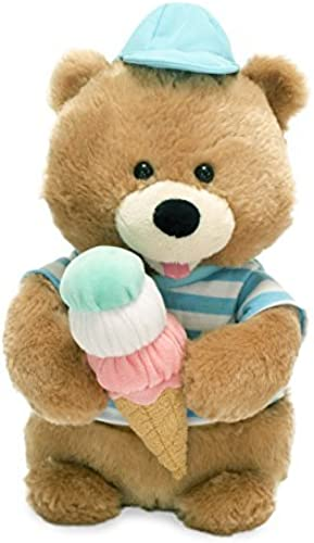 Cuddle Barn Animated Plush Stuffed Toy Bear Scoops Sings How Sweet It Is by Cuddle Barn