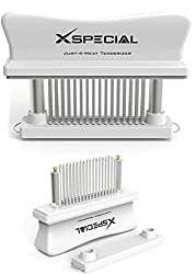 XSpecial Meat Tenderizer - Professional WHITE Kitchen