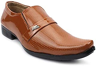 L N Shoes Formal Business/Party Shoes for Men, Tan