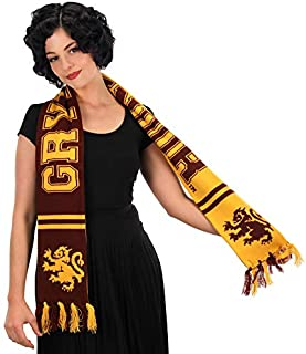 Harry Potter Gryffindor Collegiate Style Scarf Reversible Red