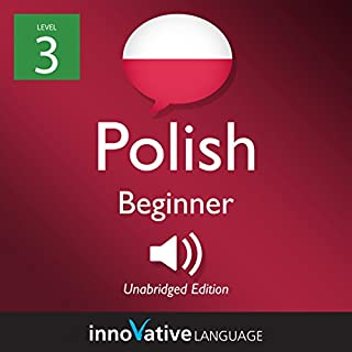 Learn Polish - Level 3: Beginner Polish cover art